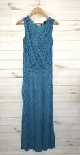 JAY GODFREY Women's Silk Maxi V-Neck Wrap Dress Size 2