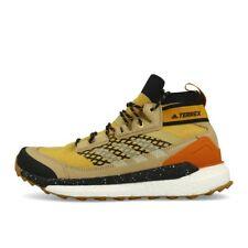 adidas Terrex Free Hiker Blue Legend Gold Sand Black Outdoorschuhe Trailschuhe