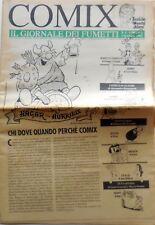 RIVISTA COMIX GIORNALE DEI FUMETTI  N.1 1992 HAGAR  SILVER MAFALDA COPIA OMAGGIO