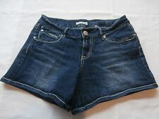 Paris Blues Women's Denim Jean Shorts Size 7 Distressed American Designer