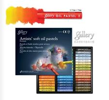 Soft Oil Pastel Mungyo Gallery Premium 48 Colours Artist Drawing MOPV-48