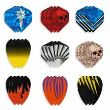 Standard Dart Flights Mixed Pattern Tail Wing Style Indoor Darts Accessories