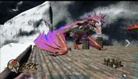 ark pc pve level 340 Zombie Light Wyvern Clone!