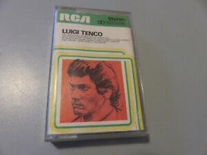 """Luigi Tenco MC musicassetta Originale """"Le canzoni di"""" RCA 1976 NK33028"""