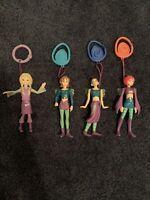 Disney W.I.T.C.H 2005 McDonald's Happy Meal Dolls/ Keychain