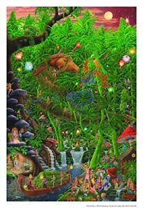 Celestial Harvest by Tom Masse Art Print Poster 22x32 inch