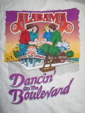 """Vintage 1997 Alabama """"Dancin' on the Boulevard"""" Crew Concert Tour (2Xl) T-Shirt"""