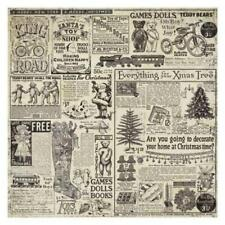 Stamperia Rice Paper Napkin - Christmas Vintage New
