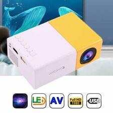 Mini Portable Multimedia LED YG300 Projector HD 1080P Home Theater Cinema HOT
