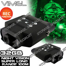 Night Vision Binocular Monocular Digital Camera Goggles Hunting  NV Security 32G
