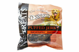 Davies Puffed Jerky Packets Dog Treat Gluten Free