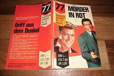 77 SUNSET STRIP  # 18 -- MÖRDER in ROT // Taschen Roman 1964