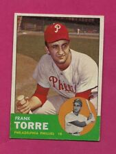 1963 TOPPS # 161 PHILLIES FRANK TORRE EX-MT CARD (INV# A4830)