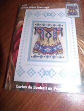NATIVE DRESS  Design Works Cross Stitch Greetings Card Cross Stitch Kit