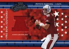 New listing PEYTON MANNING ( RED ) PRO BOWL PLAYOFF JERSEY CARD #116/250 COLTS HOF SB QB