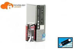 Dell Optiplex 990 USFF Desktop PC Intel i7-2600@2.80GHz 8GB 120GB SSD Win 10