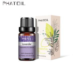 PHATOIL Rose Lavender Essential Oils 100% Pure Therapeutic Grade Oil~ For Sleep