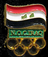2012  LONDON Olympic IRAQ NOC Internal team - delegation pin