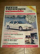 REVUE TECHNIQUE AUTOMOBILE n°531 Sept 1991 Renault 19 Fiat Ritmo Regata R5