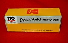 KODAK 110 VERICHROME PAN FILM-- VINTAGE
