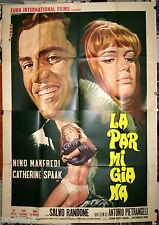 manifesto 4F originale LA PARMIGIANA Catherine Spaak Nino Manfredi 1970