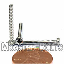2mm x 0.40 x 20mm – Qty 10 – Stainless Steel Phillips pan head Machine Screws M2