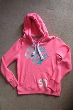 Girl's/Women's Neon Pink Superdry Hoodie Size M