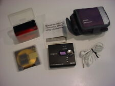 gorgeous Sony Walkman Mini-Disc Player Mz-Ne410 w/6 New Sony Disc,Sony Armband+