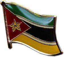 Mozambique Country Flag Bike Motorcycle Hat Cap lapel Pin