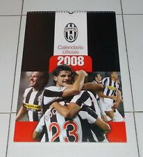 Calendario ufficiale JUVENTUS 2008 Campionato NUOVO Calcio Calendar Del Piero