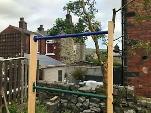 Pull up Gymnastic climbing bars parallel bar outdoor exercise climbing frame