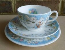 ROYAL DOULTON The Snowman Partytime Trio - Plate, Cup & Saucer