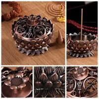 Collectable Lotus shape Home Furnishing decoration Alloy Incense Burner Censer