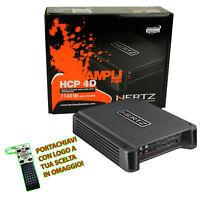 Amplificatore Hertz Copmact-Power Classe D HCP 4D 2/3/4 Canali 1160W +Omaggio