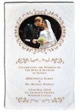 HRH Prince Harry & Ms Meghan Markle Wedding Day Kiss - Large  MicroFibre Cloth