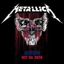 METALLICA / World Wired Tour / LIVE / Zilker Park - Austin,TX - October 03, 2018