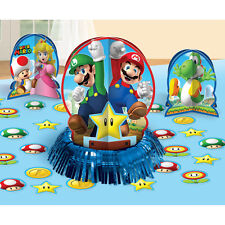 Super Mario Bros Gaming Birthday Party Table Decoration Centerpiece Kit