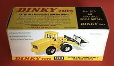 Dinky 973 Eaton Yale Artic Tractor Shovel Empty Repro Box Only