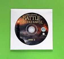 The Lord of the Rings Battle for Middle-Earth for PC Replacement Disc 2 Only