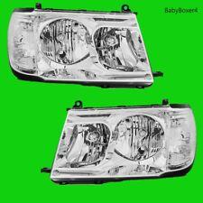 Toyota Landcruiser Head Lights 100 Series Right Left Side Chrome Clear 05 06 07