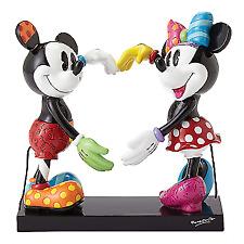 Britto Disney Mickey And Minnie Heart Figurine (Large)