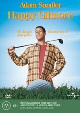 HAPPY GILMORE (REGION 4 DVD) *New & Sealed* 🎬