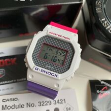 Casio G-Shock * DW5600THB-7 Digital Square Limited Edition Pink and Purple Watch