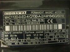INDRAMAT SERVO MOTOR     MAC112D-0-ED-4-C/130-A-2/AM164SG/S018