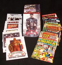 CAPTAIN AMERICA The First Avenger  Complete  MINI-MASTER  Trading Card Set