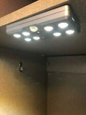 LED Wardrobe Lights Under Cabinet Downlight Motion Sensor Battery Operated