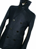 BNWT LUXURY MENS RALPH LAUREN DARKER NAVY PEACOAT OVERCOAT COAT JACKET 38R