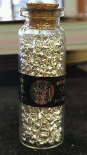 3 Troy oz. .999 Fine Silver Poured Shot (93.30 Grams)