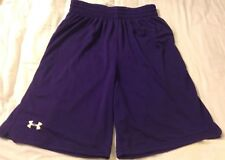 "New Under Armour Men's Dominate 10"" Basketball Shorts Purple Medium 1219914"