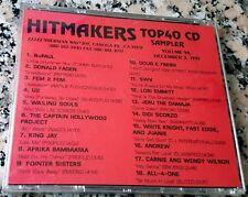 HITMAKERS TOP 40 CD SAMPLER 94 RARE DJ CD 1993 U2 SWV Donald Fagen King Jay more